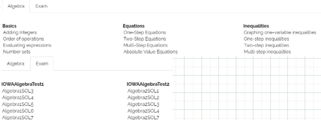 The study of algebraic thinking begins in kindergarten and is progressively formalized prior to the study of the algebra